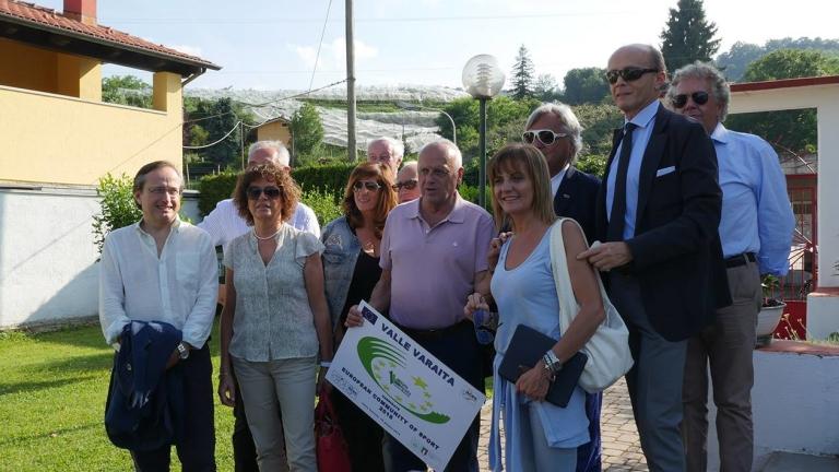 Visita delegazione europea ACES