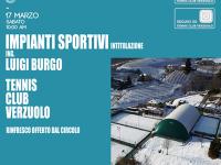 "Intitolazione Impianti Sportivi ""Ing. Luigi Burgo"""